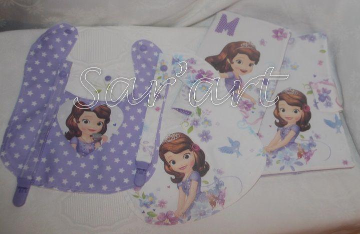 Conjunto Princess Sophia