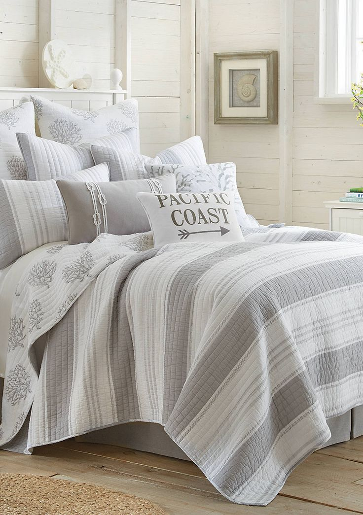 Best Levtex Alamitos Quilt Set Coastal Bedroom Decorating 640 x 480
