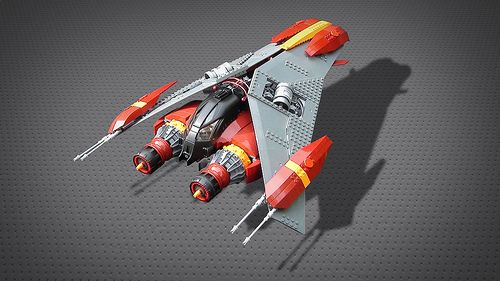 Nova Wing by The Suboken LEGO Projects