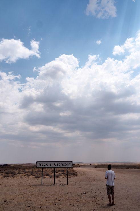 Tropique du Capricorne. Namibie.