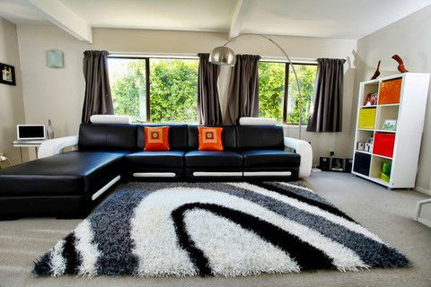 Picture of Colo Black Shag Rug