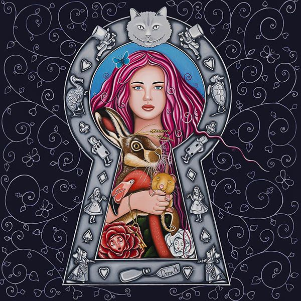 A  Peek Into Wonderland | Limited Edition of 45 & 5 Artist Proofs