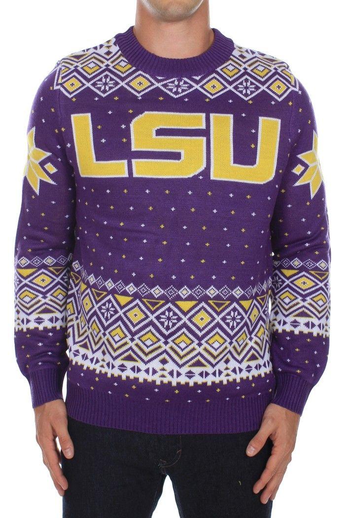 Men's Louisiana State University Sweater