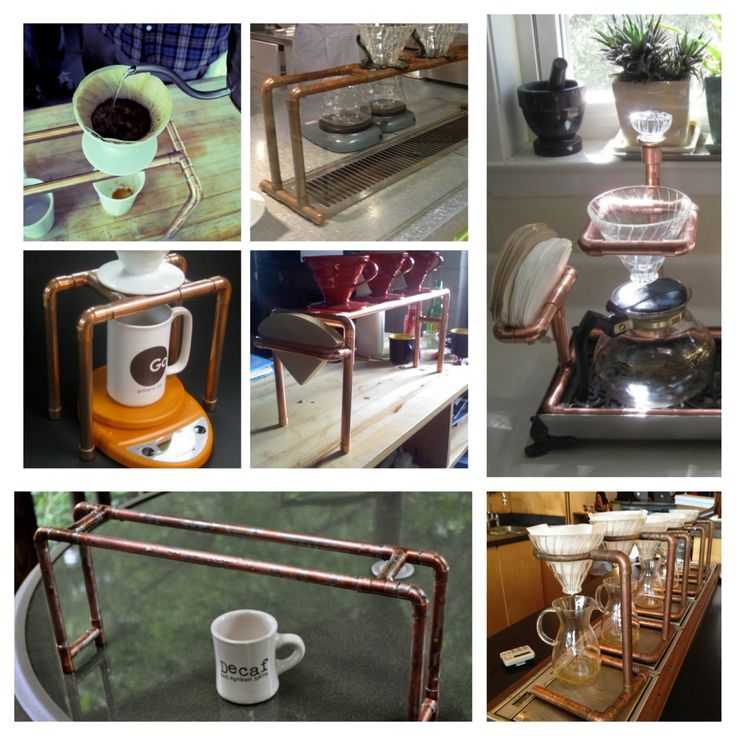 Making our very own copper pour-over station today!!