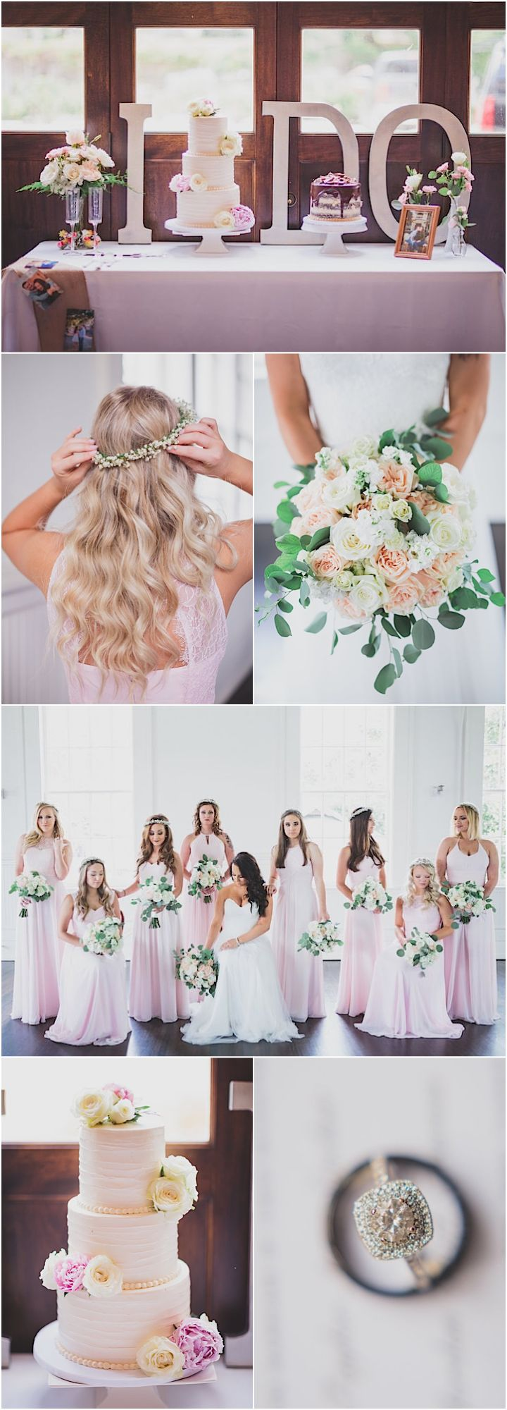 Featured Photographer: Kelly Costello Photography; chic pink wedding details