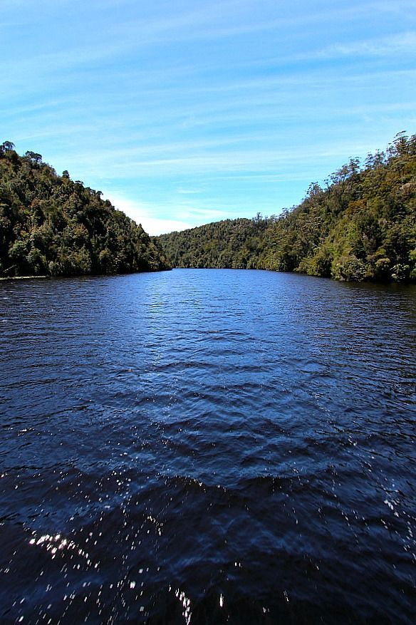 Take a cruise down the Gordon River in Tasmania, Australia