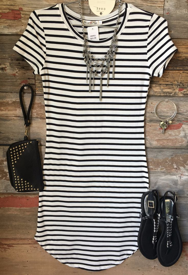 On the Horizon Tunic Dress: White from privityboutique