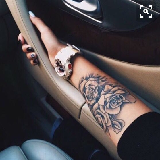 Only Other Tattoo I Have Ever Thought Of Has Been Roses. I Have Pictures On My Phone Since 2014 Of Ideas. This Is One Beautiful Piece That I Would Love To Have. #tattoos #rosetattoos #dreamtattoos #teamtatted