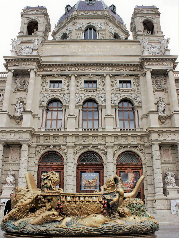 Stunning architecture of Vienna, Austria.