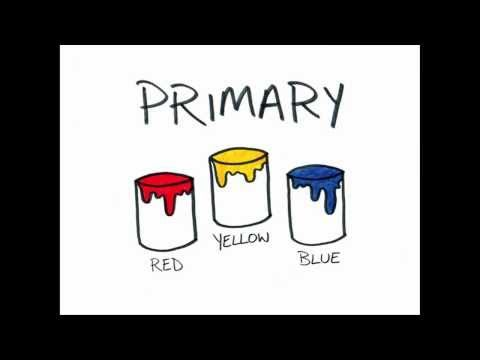 color wheel- primary, secondary, complementary, warm, cool (3:40)