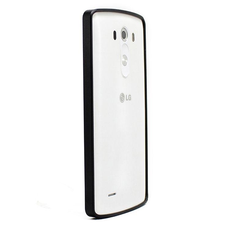 Mobilce   LG G3 JQR METAL BUMPER SIYAH Mobilce   Cep Telefonu Kılıfı ve Aksesuarları