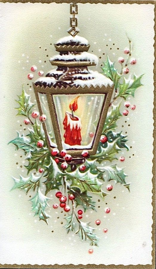 Old Christmas Post Сards — (539x900)