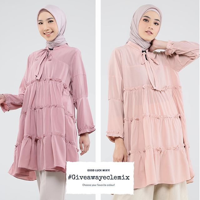 Warna Jilbab Yang Cocok Untuk Baju Warna Peach