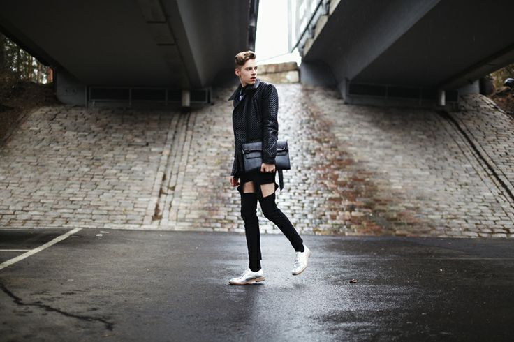 New beat by Mikko Puttonen. Mikko wearing Meri cut-out pants from JULJA. www.juljafinland.com