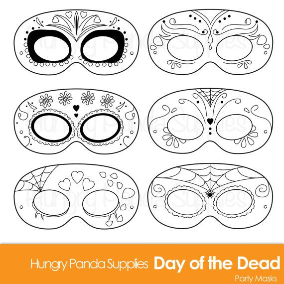 day of the dead skull mask template - 25 best images about sugarskull printables on pinterest