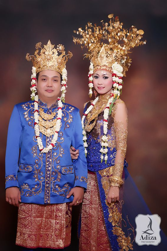 South Sumtra wedding outfit.