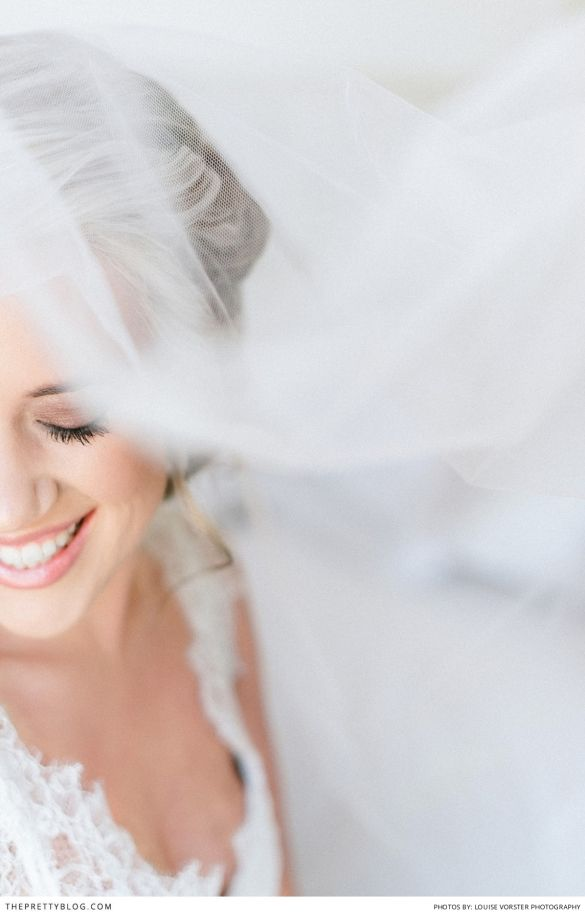 Natural wedding make-up. Photography: Louise Vorster Photography | Bride Dress & Bridesmaid Dresses: Casey Jeanne Couture | Hair: Juane' Crous | Make-up: Lorainne van der Nest |