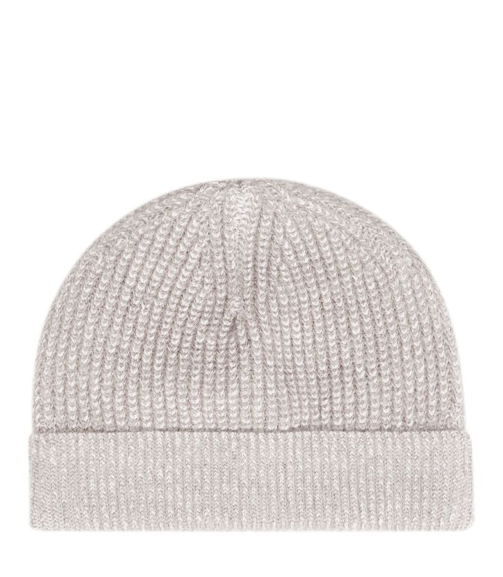 Bedford - Cable Knit Beanie in Ecru, Mens Reiss