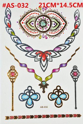 2015 временные татуировки серии цветочный стиль костюм для боди-арт, татуировка наклейки