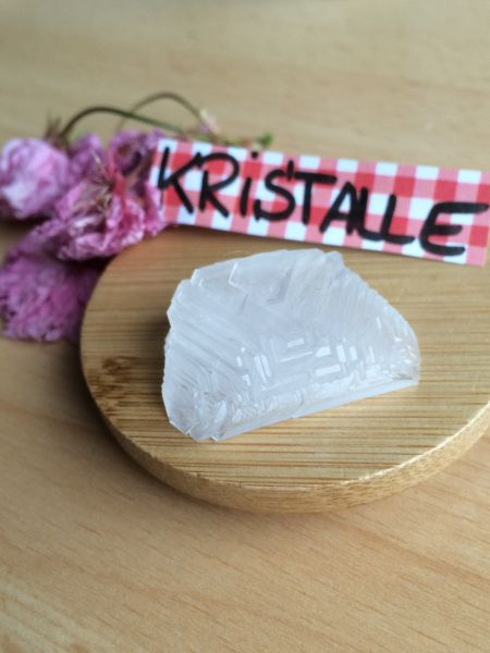 Kristalle aus Alaun selber züchten