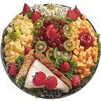 Gourmet Cheese + fruit platter