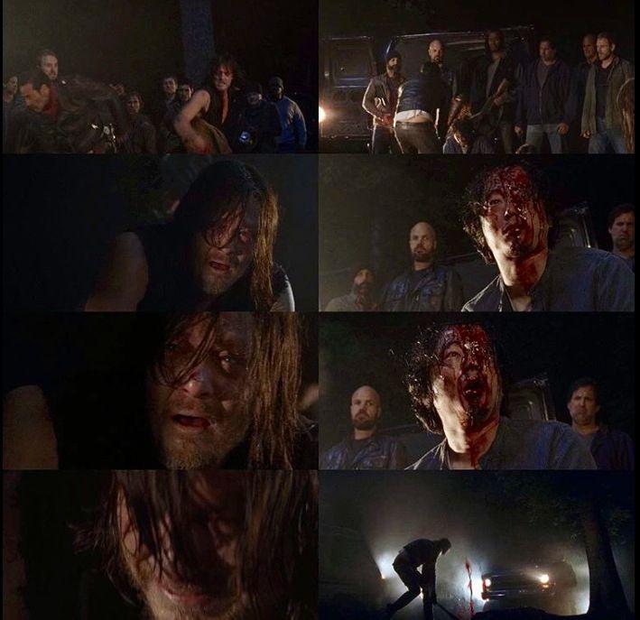 Daryl's face after Negan killed Glenn :(