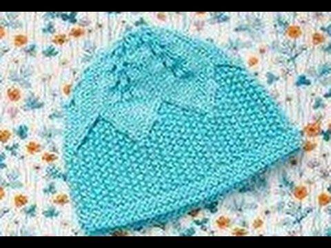 Kenar Lastiği Kıvrılan Bebek Şapkası Nasıl Yapılır? - YouTube