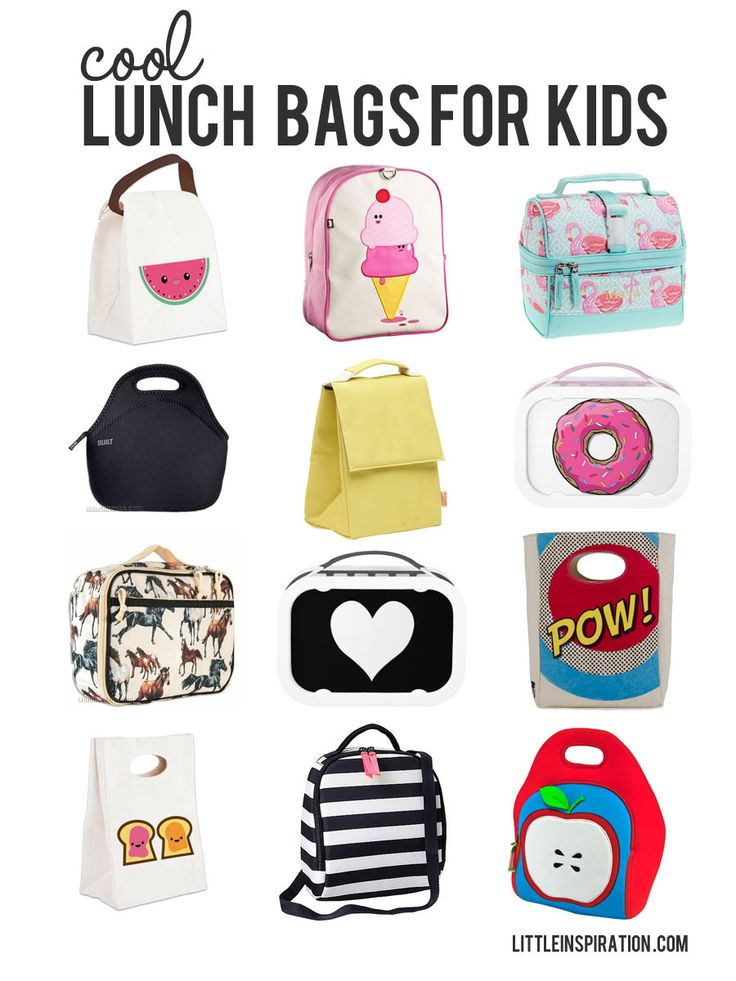 cool lunch bags for kids