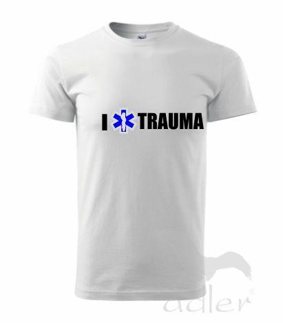 koszulka z napisem i love trauma - emedlink.pl