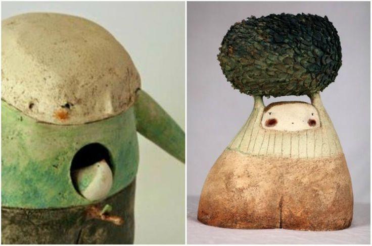 Het aanraken van de wereld van de beeldhouwer Anne-Sophie Gilloen - Fair Masters - handgemaakt, handgemaakte