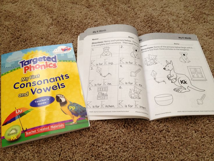 LETTERS/PHONICS: AMAZING curriculum by Teacher Created Materials