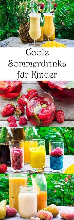 Coole Sommerdrinks: einfache Cocktails für Kinder (und Mamas) – ♥ Kochen für Kinder und mit Kindern ♥