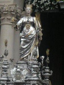 Santa Lucia, una Santa uccisa violentemente