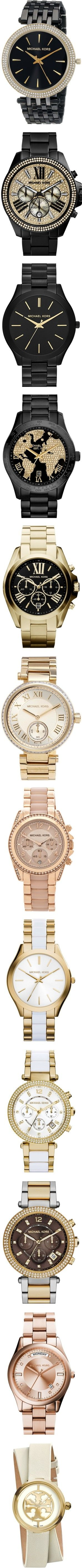 Watches by darlingchick on Polyvore featuring polyvore, fashion, jewelry, watches, michael kors watches, michael kors jewelry, military style watches, black dial watches, gold tone watches, accessories, bracelets, black watches, gold pave bracelet, gold jewelry, gold chronograph watches, chronograph watches, michael kors, black gold jewelry, gold wristwatches, gold wrist watch, yellow gold watches, black wrist watch, black jewelry, michael michael kors, golden jewelry, gold bracelet watches…