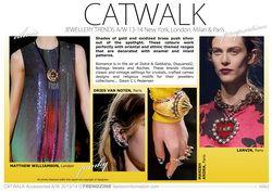 Catwalk 2013/14 Jewellery Trend Analysis