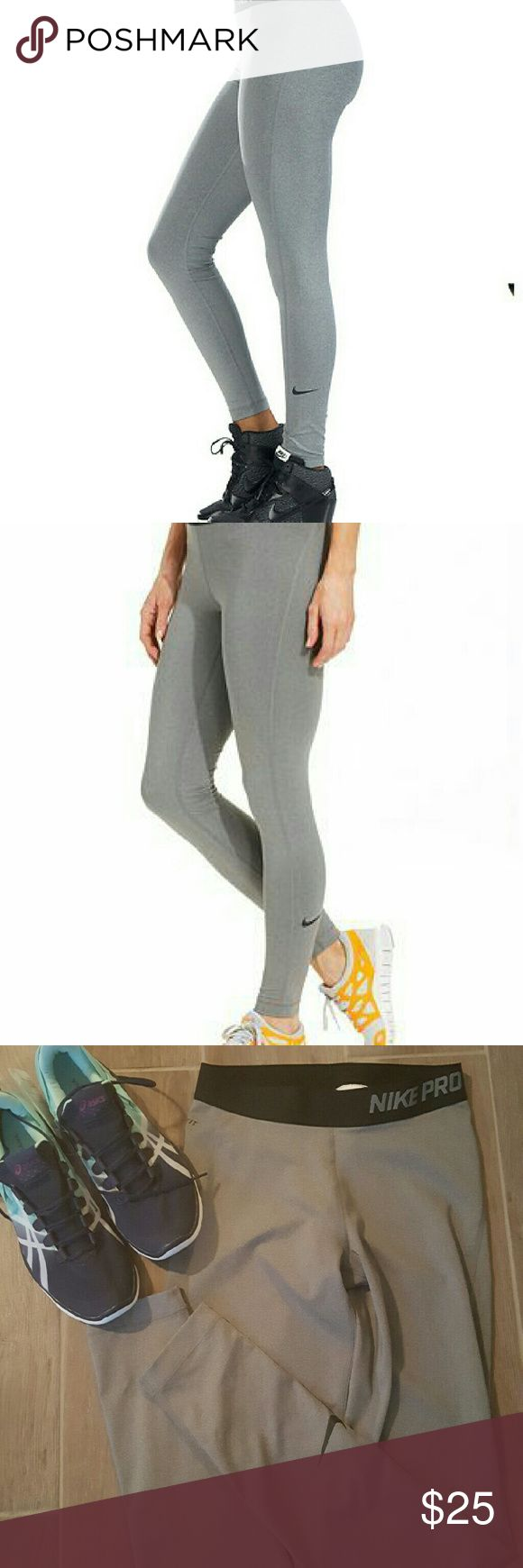 Nike Pro Dri-Fit Leggings Ladies size small Nike Pro Dri-Fit leggings.  Worn once, in excellent condition. Nike Pants Leggings