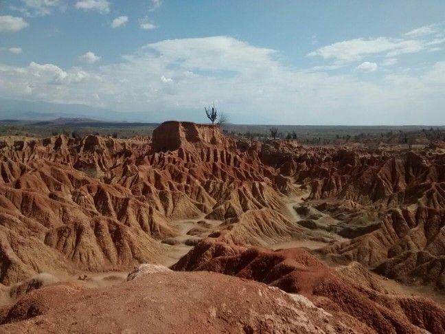 El desierto del Huila norte