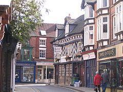 Market Drayton Town Centre