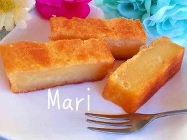 もはやお餅‼かりもちっ♡バター餅ケーキの画像
