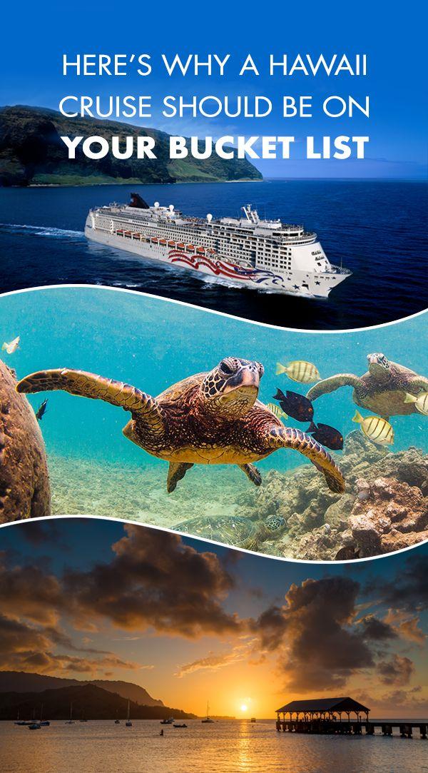 From Maui to Kauai, discover the Aloha Spirit of Hawaii! Check out why you should cruise Hawaii.