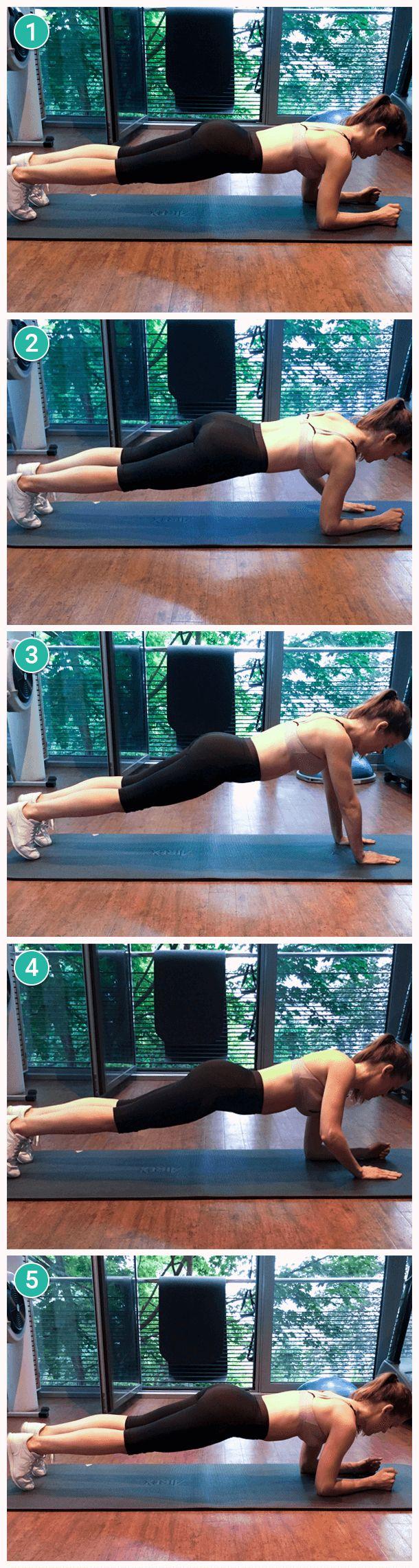 Egal ob im Bauch-Beine-Po-Kurs oder an den Geräten, die meisten Frauen konzentrieren sich beim Training mit Vorliebe auf die typisch