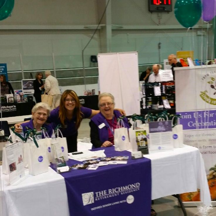 We would like to thank our ambassadors- Dorothy, Audrey, Cliff and Verna, for helping us at The Seniors Fair. Thank you for a job well done!!!!! #verveseniorliving