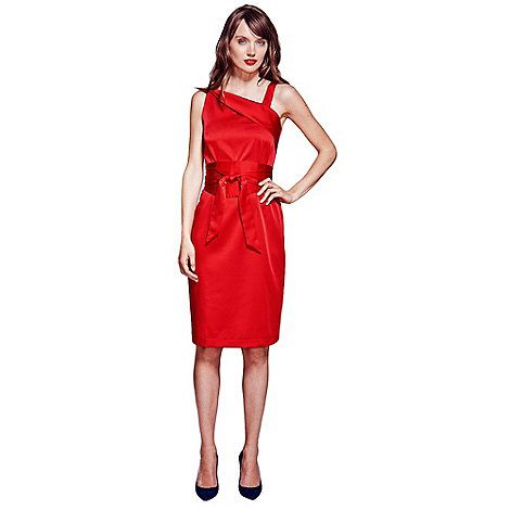 78  ideas about Red Silk Dress on Pinterest - Sexy heels- Red ...