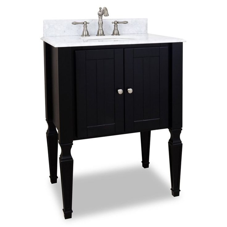 jensen bathroom vanity w marble top and sink