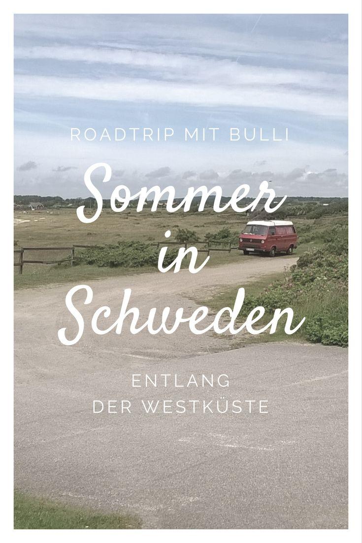 Ein Road Trip mit dem Bulli durch Schweden - das war immer meine Traumreise. Zwei Wochen sind wir mit unserem VW Bus an der Westküste entlanggefahren.