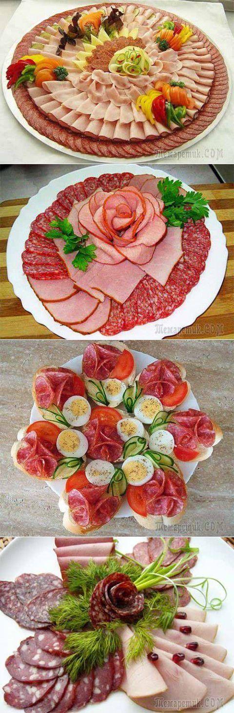 Немножко идей для праздничного оформления закусок | Домашняя кулинария | Скоро Новый год | Постила