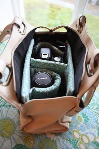 Adictaaloscomplementos: Diy, tutorial: prepara tu bolso para llevar tu cámara réflex bien protegida