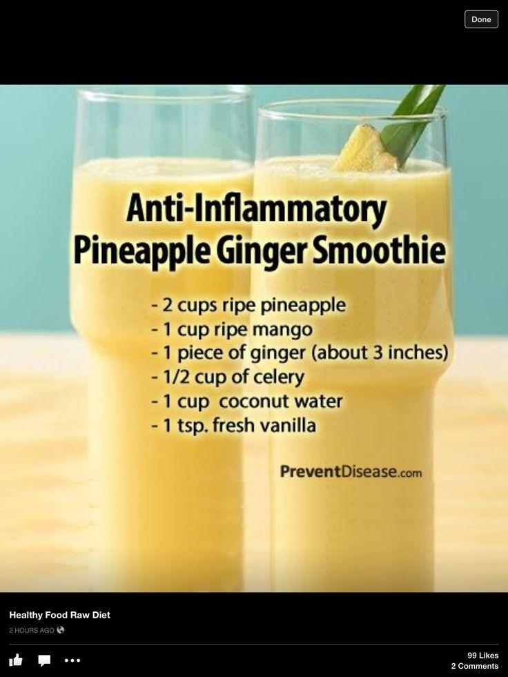 Anti-inflammatory Ginger Apple Smoothie