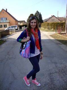 Pink converse outfit!