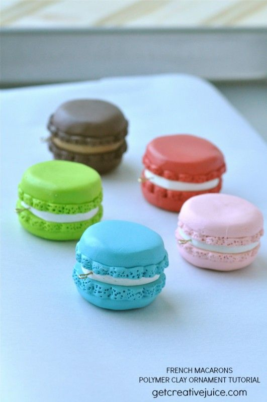 {tutorial} French Macaron Ornaments - Creative Juice